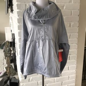 Jackets & Blazers - Zella Lightweight Silver Grey Jacket Small.